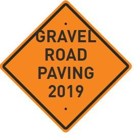 Gravel Road paving