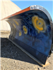 Side View of a Painted Plow