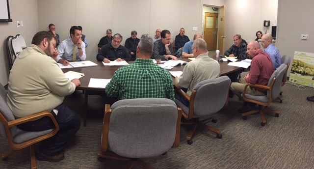 Planning meeting with RCOC, West Bloomfield Twp., Farmington Hills, Dan's Excavating and Consumer