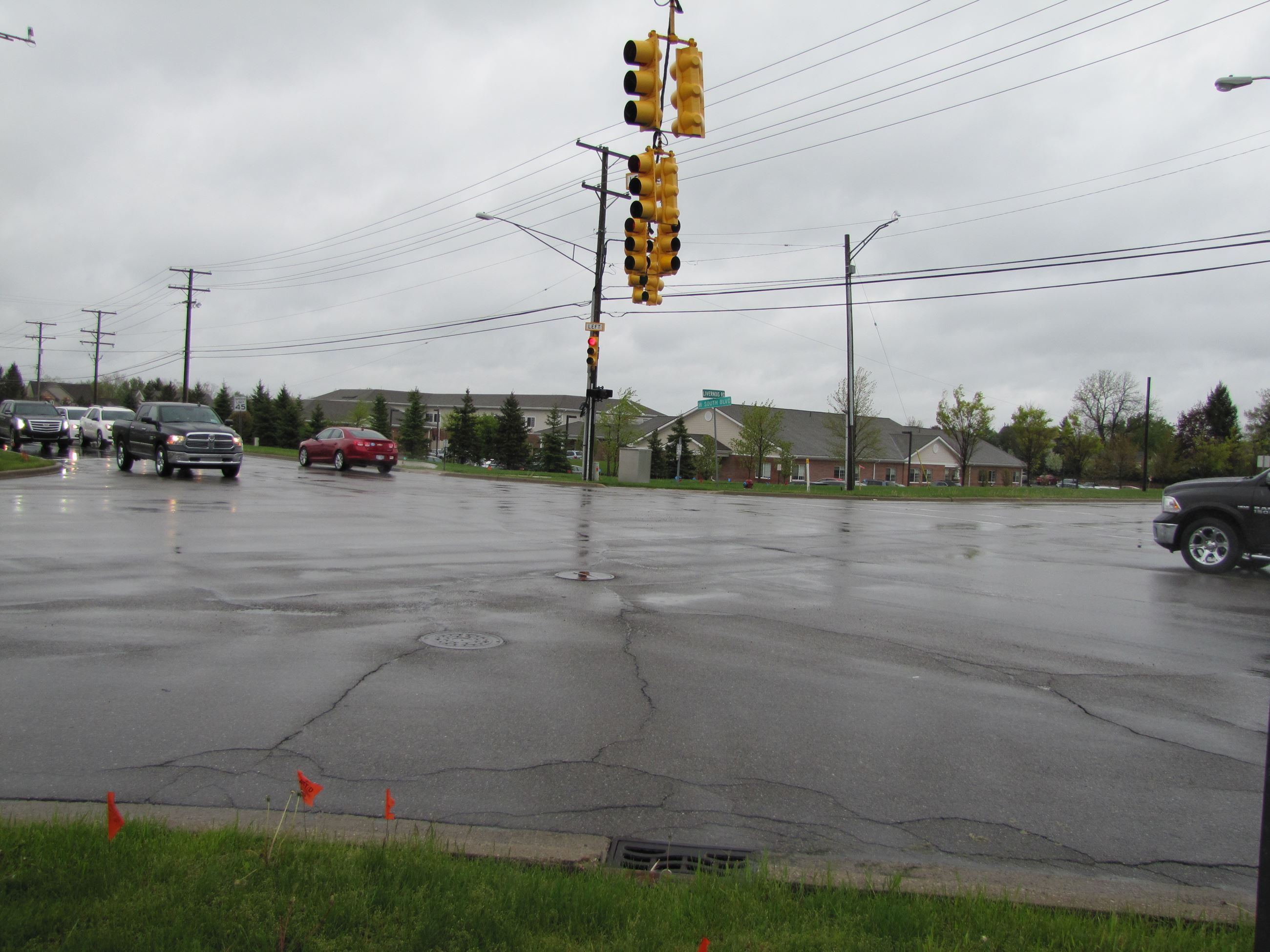 South Blvd./Livernois interesection; preconstruction