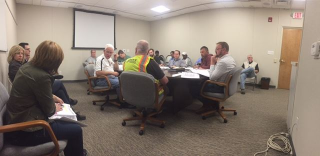 Stakeholders meeting with Dan&#39s Excavating