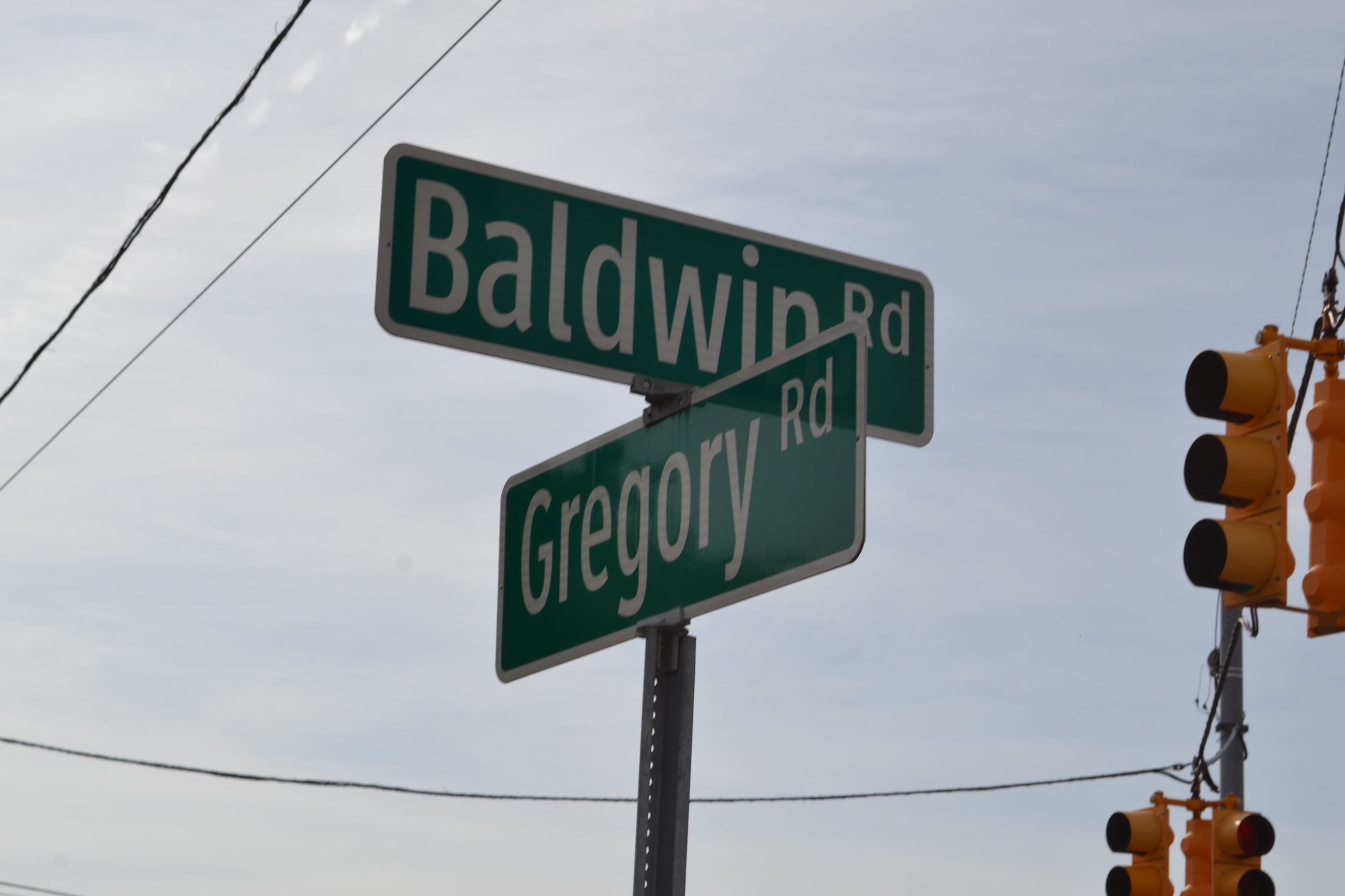 Baldwin/Gregory Sign