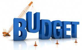 Budget Meeting Sign