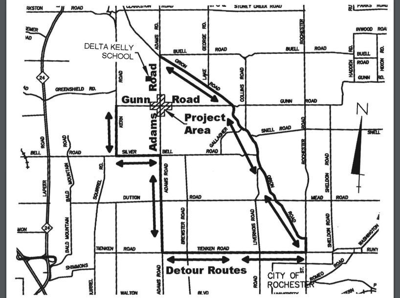 Adams Gunn Detour Route_3-26-19