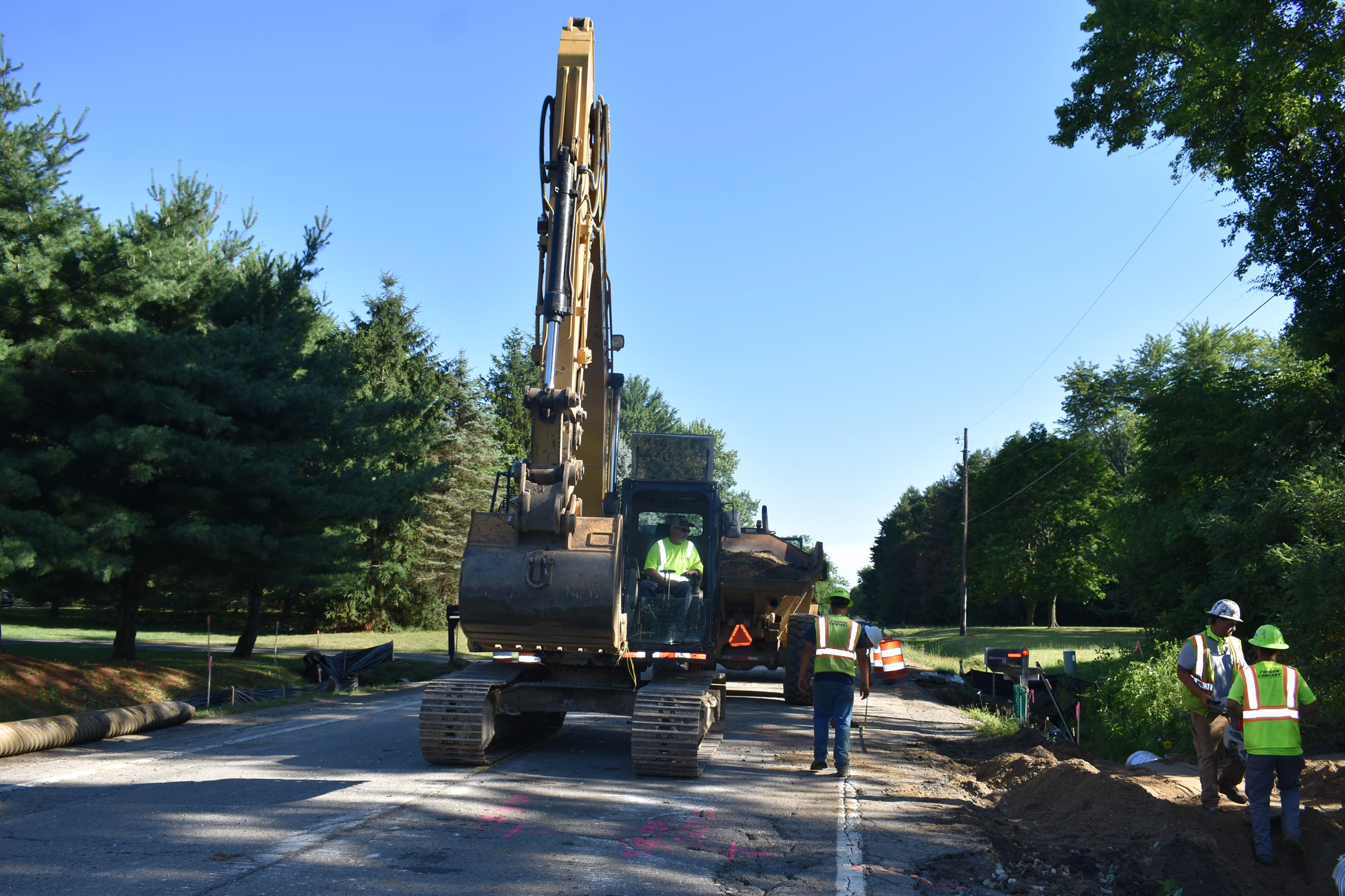 Holly Road Culvert Replacements north of Lahring Road