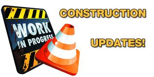 Road construction update image